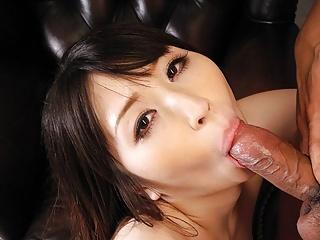 Japanese brunette, Haruna is fucking to become a pornstar, u