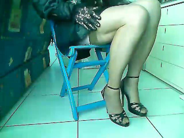 Shemales in nylon legs