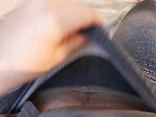Masturbating in Jeggings