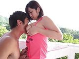 Outdoor Asian Slut Fingered and Licked