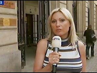 Eva Chaloupkova (Busty Czech TV reporter)