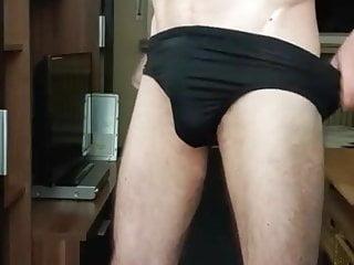 harter schwanz in black undie