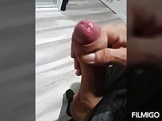 Sharing my big wet cock on kik