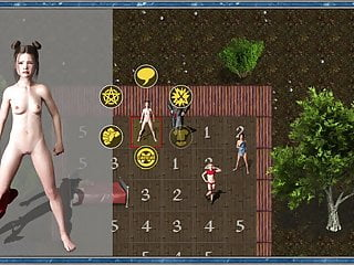 Kronos: Time Titan, Battle Menu Sustem and Girl Stripping