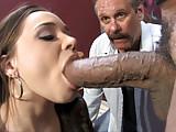Tiffany Star Fucks Huge Black Dick In Front Of Her Cuckold