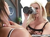 Brazzers - Emily Addison - Two-on-One Fun