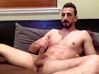 Long Dick Guy Is Desperate For His Cum
