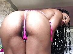 Solo fit fbb ebony big ass tease