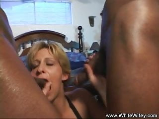 Blonde wifey dp with bbc...