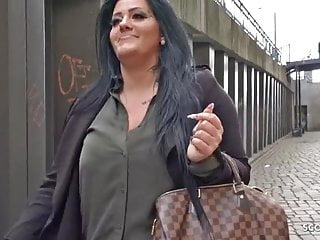 Czech street milf beautiful with sex