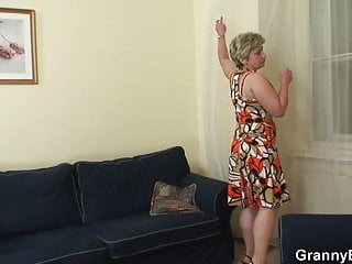 from fucks old pussy shaved her behind Stranger