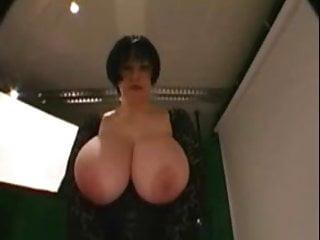 Huge tits threesome