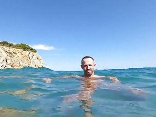 hot guys having horny fun in the ocean