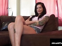 Hot Tatted Maria Marley Gets Her Bootie Romped & Jizzed In!
