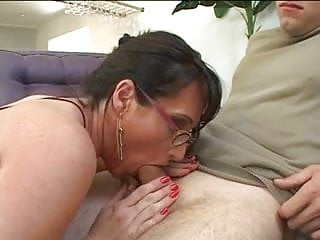 Milf getting after fucking...