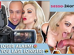Loser cums after 5 minutes: MARY RIDER - SESSO-24ORE.com