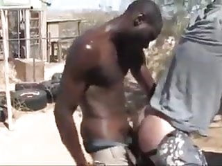Very Hot Tramps Fuck Outdoors