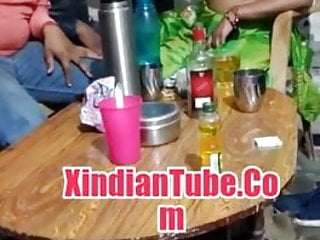 Boob Indians Groups vid: Indian aunty boobs enjoyed by group of boys
