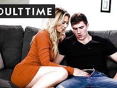 Sexy Stepmom Satisfies Horny Stepson's Intense Urges