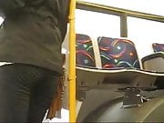 Teen voyeur in bus hot tight ass
