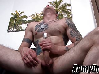 Dick cody smith doing a solo masturbation session...