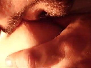 Licking...