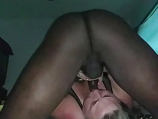 Bbw after throat fucked by bbc...