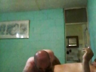 with my topchub in a cheap hotel, blowjob 2