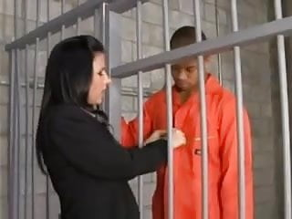 Public defender fucks inmate creampie...