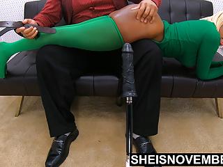 4k Msnovember Getting Savage Belt Asshole Spanking By Daddy