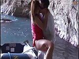 Versauter dreckiger Sex am Strand