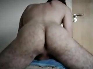 Pillow humping orgasm...