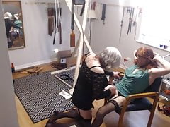 Dana & Mistress Pleasure Each Other