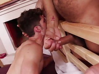 Sexy Bottom Fucked Raw By Four Studs