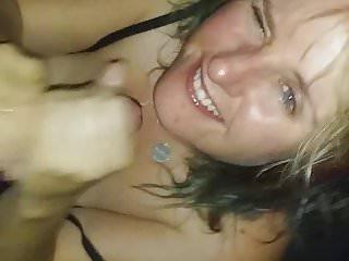 Sexy little cum guzzler