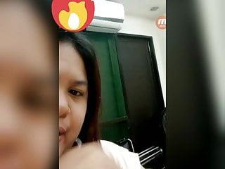 Videollamada con filipina caliente pt1