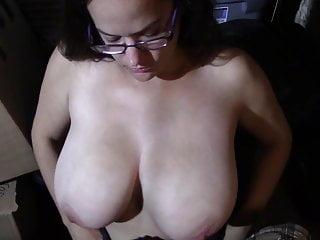 Massive Tit Milf Jerks Hog