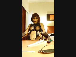 Asian Satanic Sissy Slut's Transformation Compile