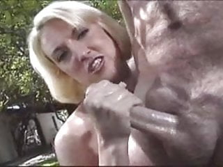Hot Babe With Braces Jerks off Thick Cock Outdoors! Plus Bonus Scene! Please comment!