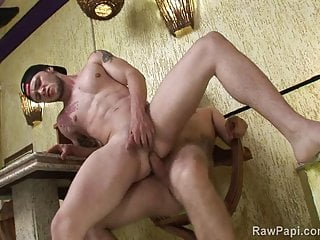 Two jerking hole...