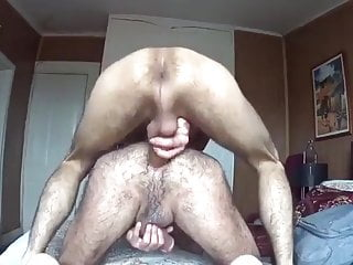 Bear fuck bareback and cum...