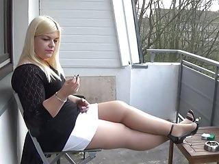 mariella smoking in pantyhose and heelsPorn Videos