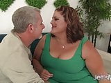 BBW Sexy Erin Green gets fucked from behind