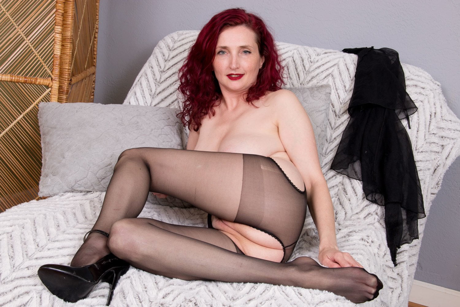 And the blue stockings milf sorry