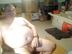 Handsome Chub Plays With His Cock