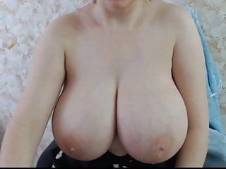 Huge round tits...