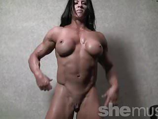 Bodybuilder angela salvagno naked...