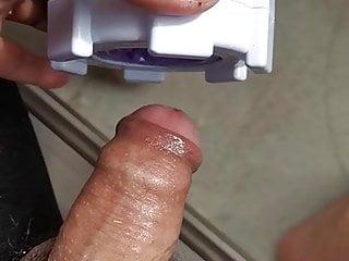 Male masturbator...