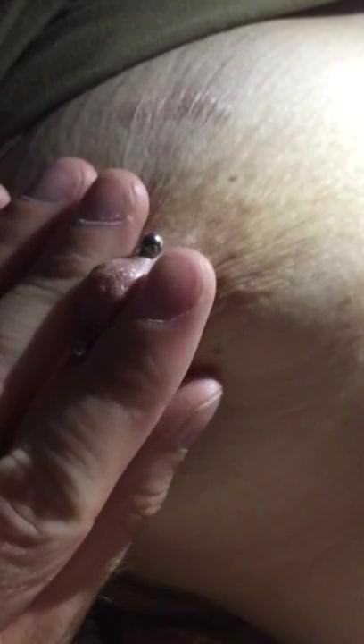 Bbw Nippel Klemme Masturbation