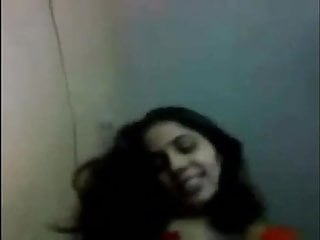 See hot Indian wife filming with neighbor